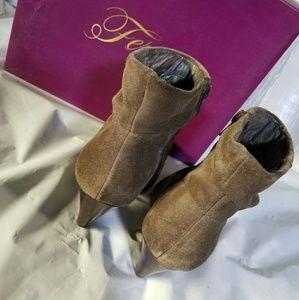 a4f3700e177f Fergie Shoes - Fergie Vivacious Suede Ankle Boots